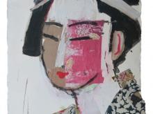 Geisha 5 by Jean Michel Aucler