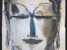 Buddha Biru by Jean Michel Aucler
