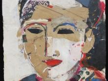 Oriental Portrait by Jean Michel Aucler