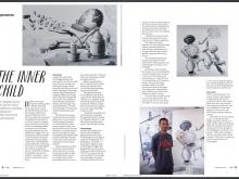 Nyaman Gallery Bali on Hello Bali Magazine September 2016