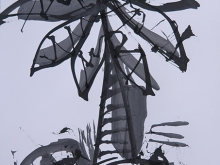 25. Bali Life Palm Tree Frame Series #10