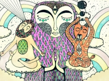 Evgeny Bam's Art in Nyaman Gallery Bali