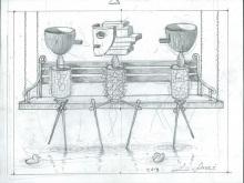 Life - Sketch by L. Fauzi