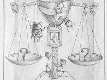 Ketika Hukum Mulai Digoda - Sketch by L. Fauzi