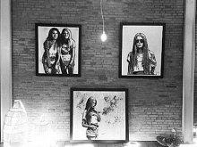QUINT artwork on Nyaman Gallery Bali