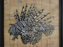 Lionfish With Frame by Quint