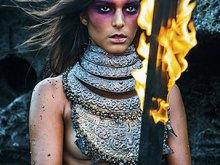 Girl Warrior by Stephan Kotas in Nyaman Gallery Bali