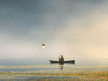 Morning Fisherman by Yoga Raharja