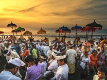 Sunset Ceremony by Yoga Raharja