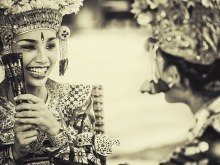 Legong Dancer by Yoga Raharja