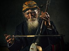 Old Rebab Master by Yoga Raharja