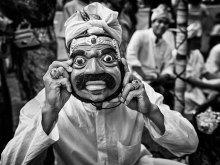Topeng Kumis by Yoga Raharja
