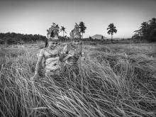Penari Ladang by Yoga Raharja