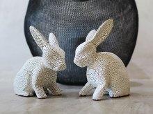 Rabbit Sculptures by YOKII