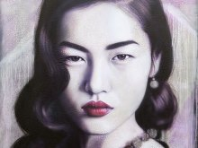 Liu Wen Purple Haze by YOKII