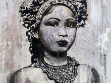 Silver Balinese Dancer by YOKII
