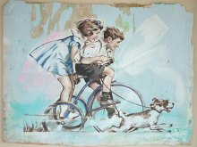 Tricycle V / 'Recycle Vintage' Series by YOKII