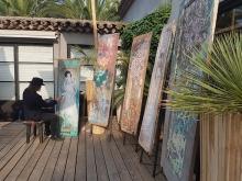 Yokii Live Painting at Taman Antik St Tropez