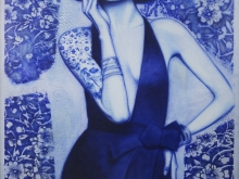 Smokin Blue by YOKII