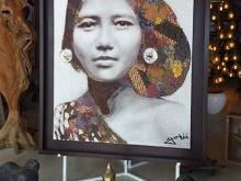 Bali Batik Lady by YOKII