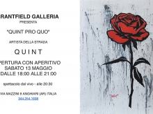 QUINT - Solo exhibition at GRANTFIELD GALLERIA D'ARTE, Italy