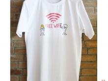 FREE WIFE_WHITE_S_M_L_XL_XXL