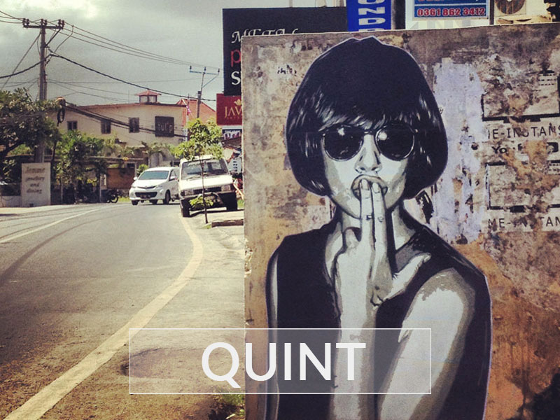 Street Graffiti by Quint in Nyaman Gallery Bali