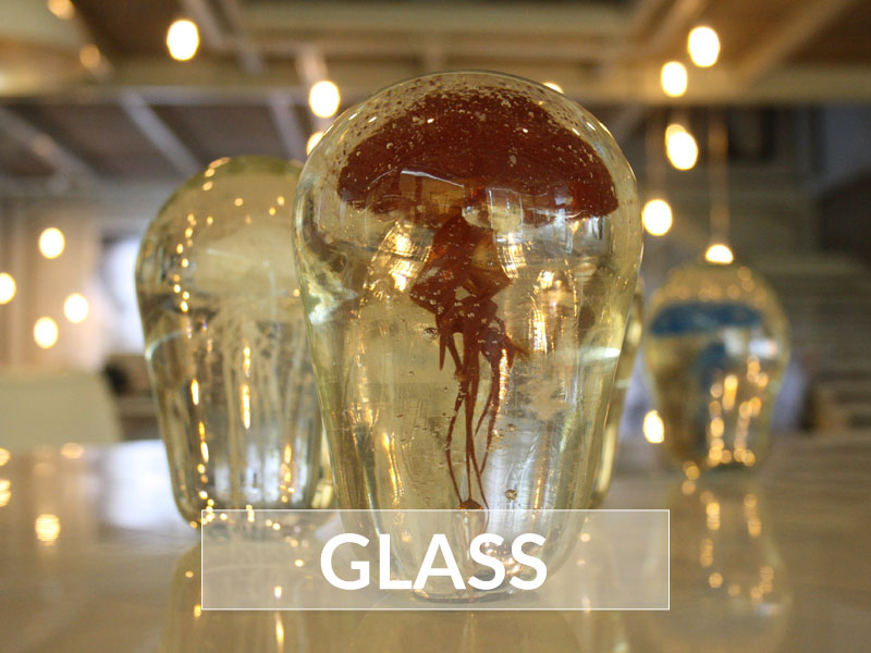 Picture of the Glass In Nyaman Gallery Bali