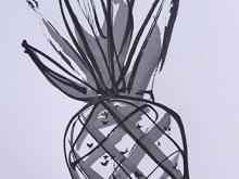 15. Bali Life Pineapple Frame Series #9