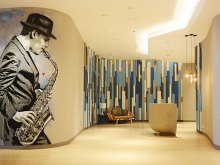 Quint stencil art for Sol House Bali Legian Hotel, 2017
