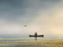 Morning Fisherman by Yoga Raharja