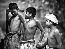 Trio Bocah by Yoga Raharja