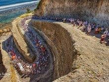 Pandawa Beach Ceremony by Yoga Raharja
