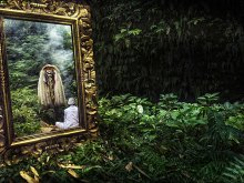 Rainforest Reflection by Yoga Raharja