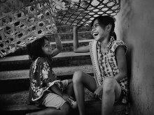 Tertawa Senang by Yoga Raharja