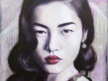Liu Wen Purple Haze by YOKII