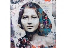 Graffiti Girl by YOKII