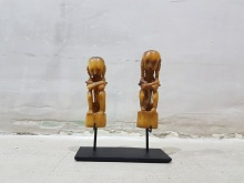 Sitting Couple Mini Sculptures