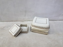 Ceramic Sokasi Boxes
