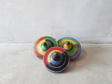 Vintage Wooden Spinning Top