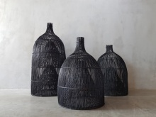 Woven Bamboo Fish Traps